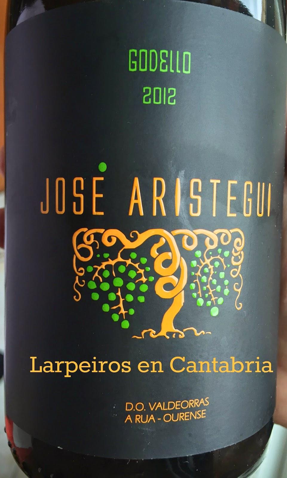 Blanco José Aristegui Godello 2012: Todo un Detalle