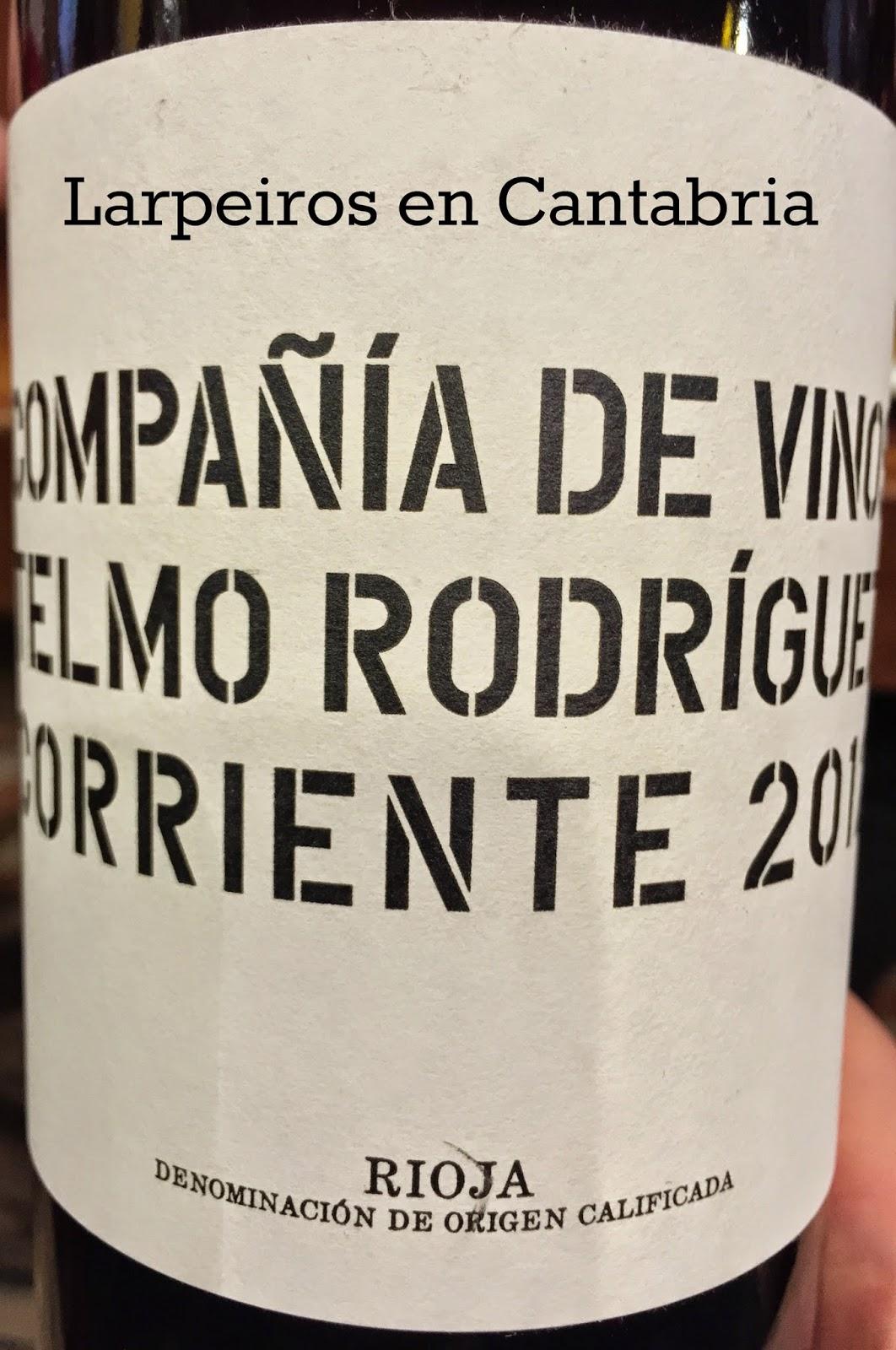 Vino Tinto Corriente 2012: Rioja de Telmo Rodríguez