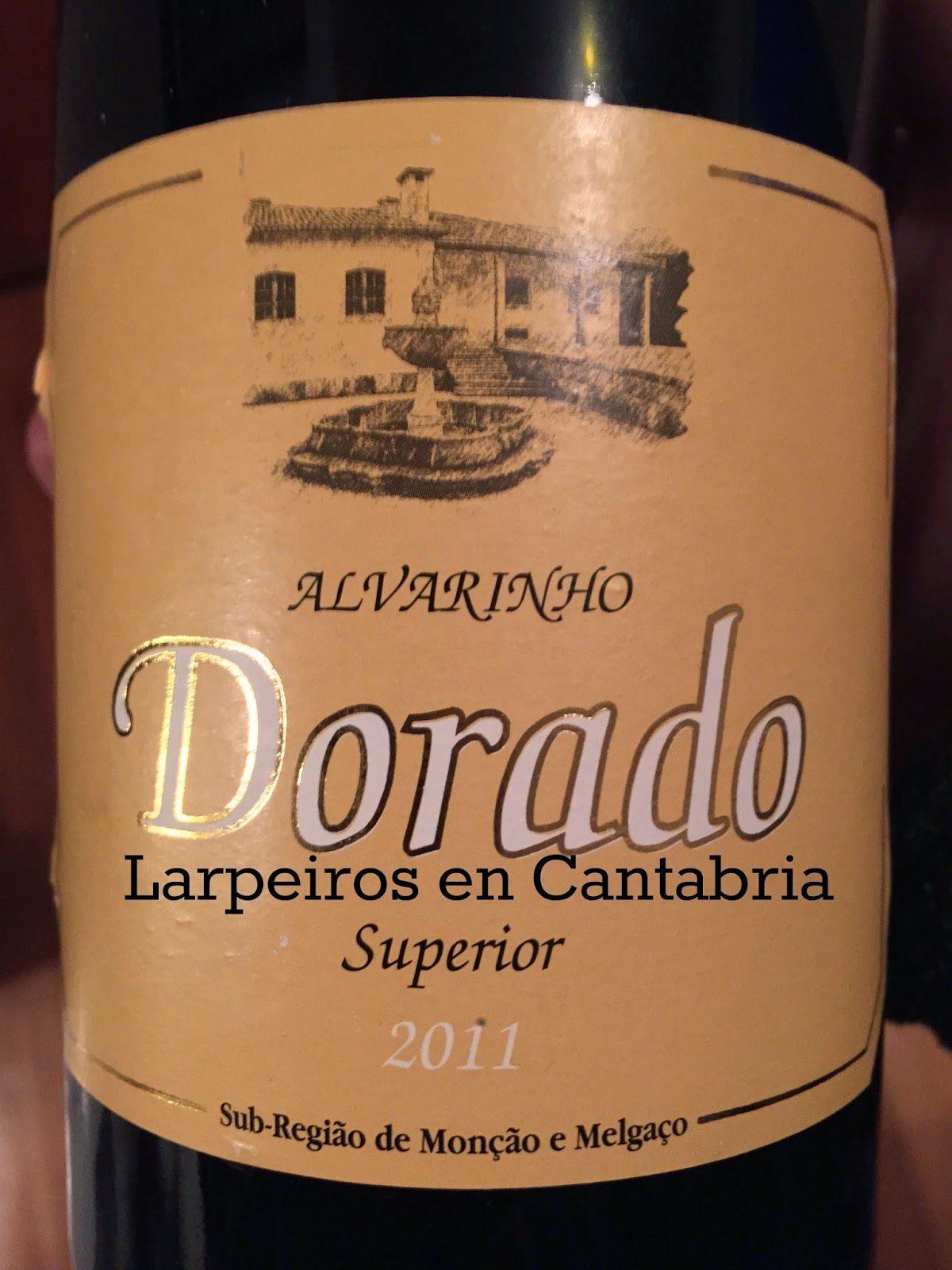 Vino Blanco Dorado Superior 2011: No podemos ser objetivos