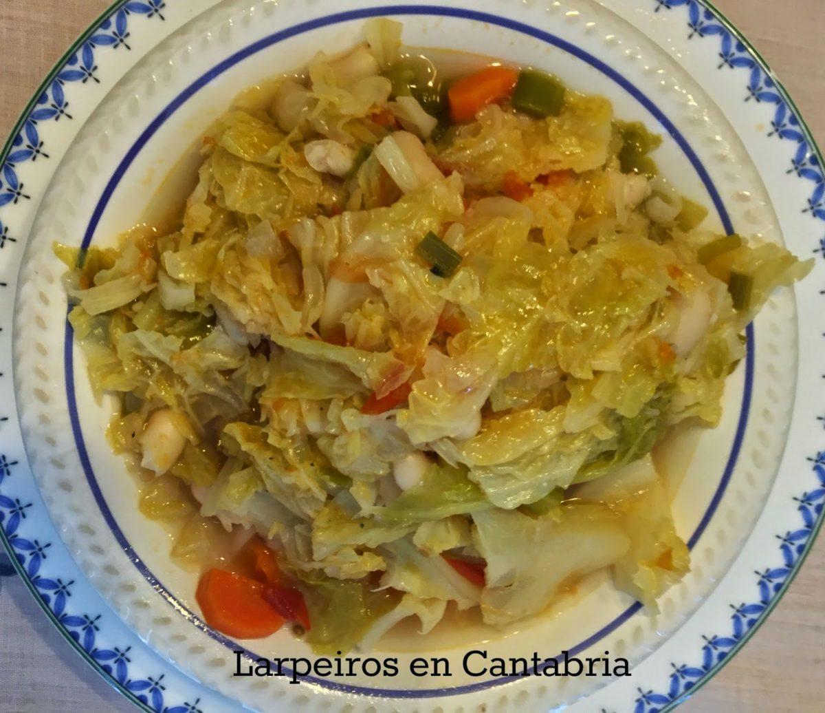 Ribollita: Guiso de Alubias con verduras
