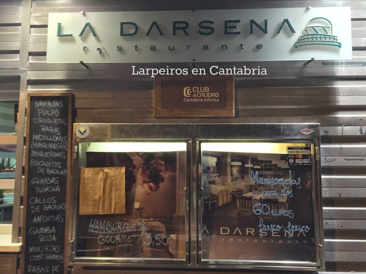 Restaurante La Dársena de Suances: Costera del Verdel