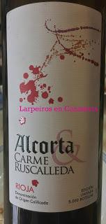 Vino Tinto Alcorta Crianza 2007 Edición Carme Ruscalleda
