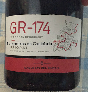 Vino Tinto GR-174 Vi de Gran Recorregut 2014
