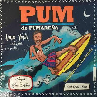 Vino Tinto Pum de Pumareña 2014: Único, maravilloso