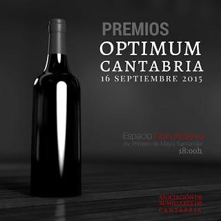 Optimum 2015: Sumilleres de Cantabria (Nota de Prensa)