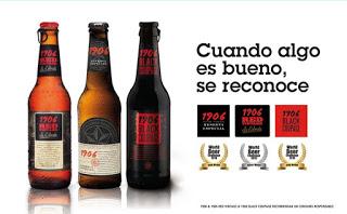 Las 3 cervezas de la familia 1906 conquistan el World Beer Challenge 2015 (Nota de prensa)