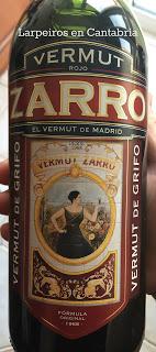 Vermut Rojo Zarro: El vermut de Madrid