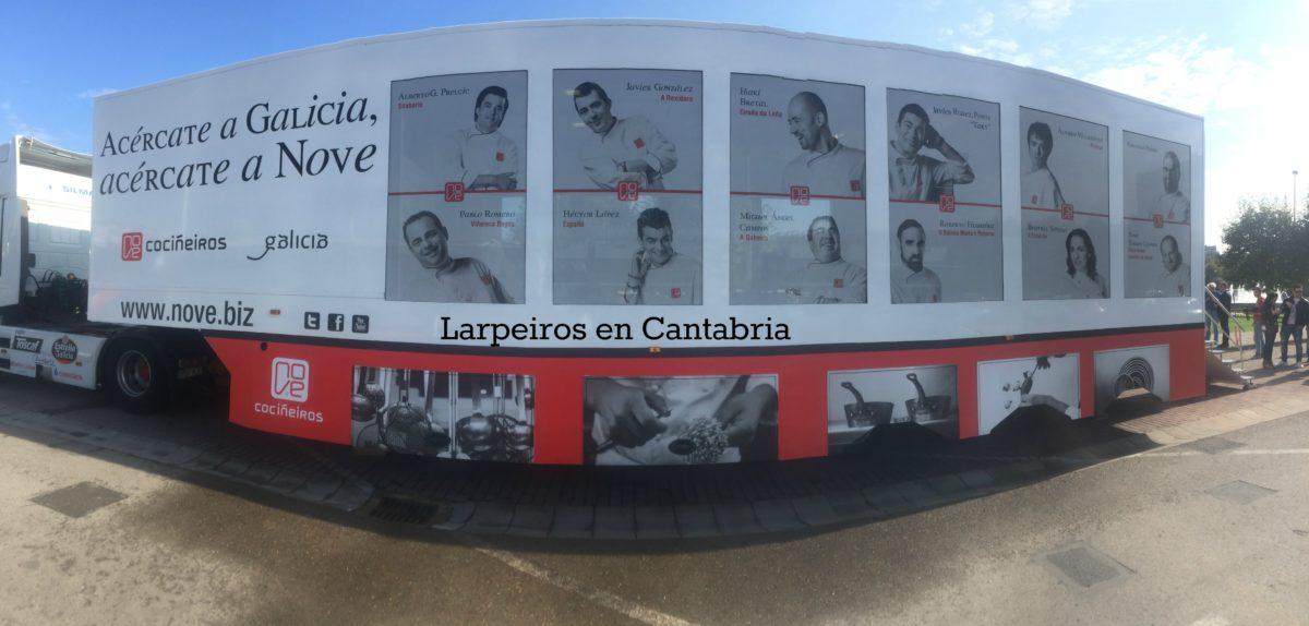 Acércate a Galicia, acércate a Nove: En Santander