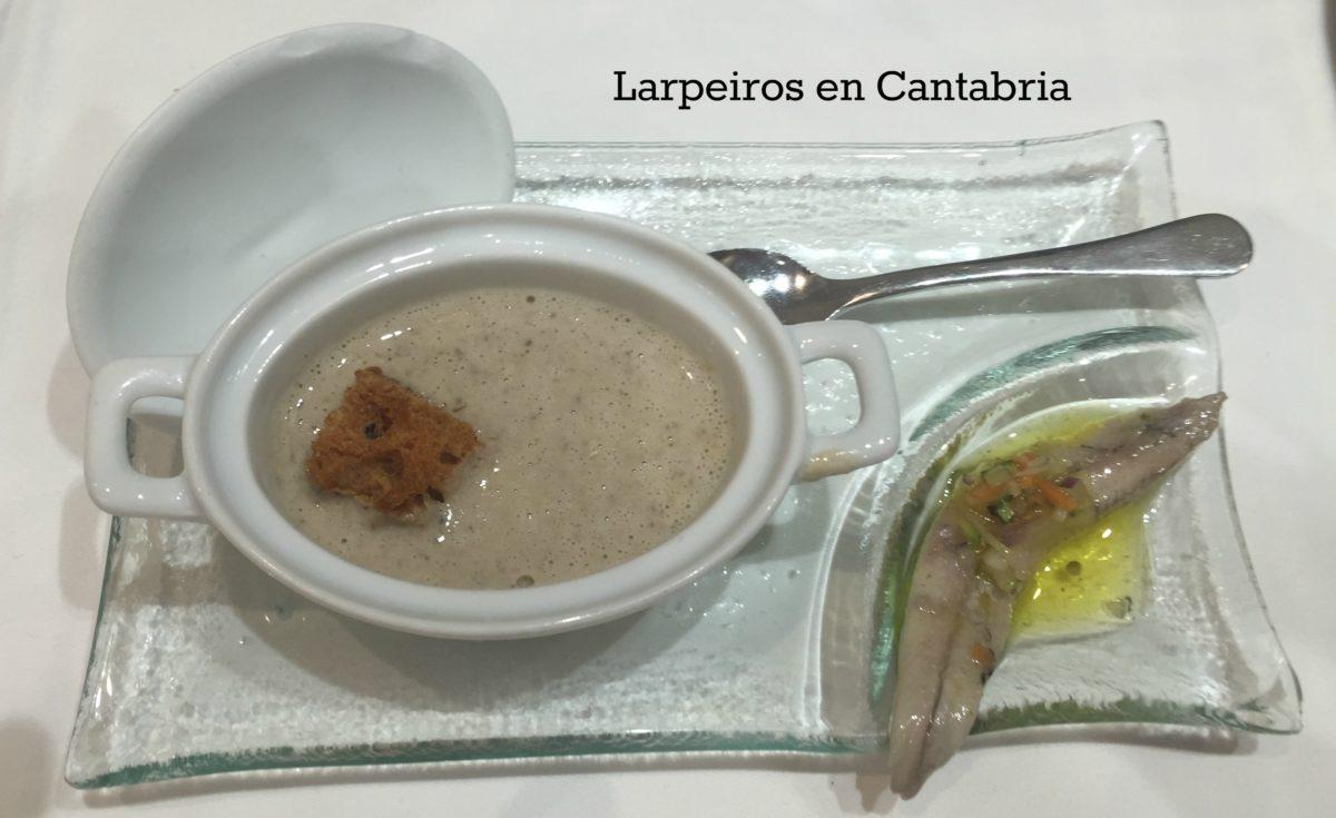 Restaurante La Vinoteca en la calle Vargas de Santander