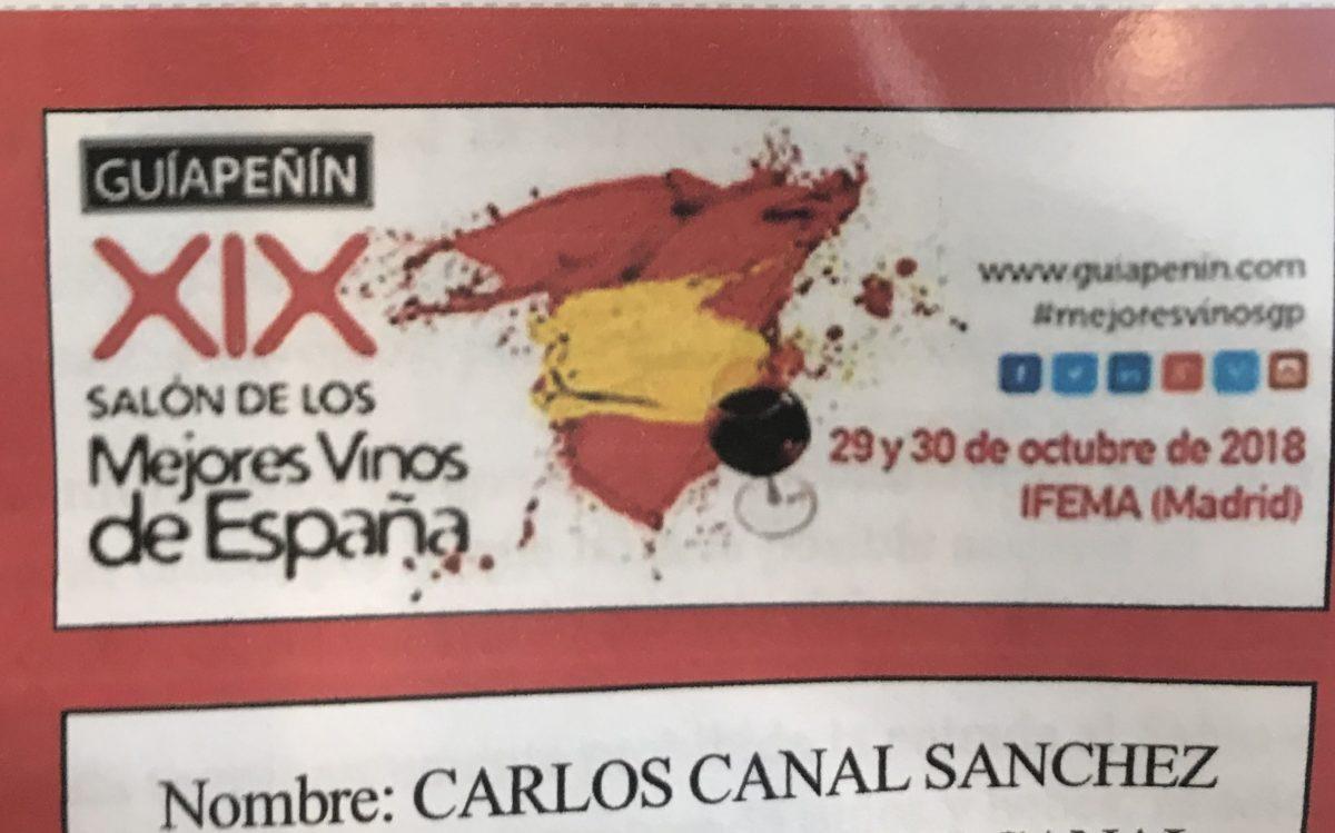 XIX Salón de los mejores vinos de España Guía Peñín (Parte 1)