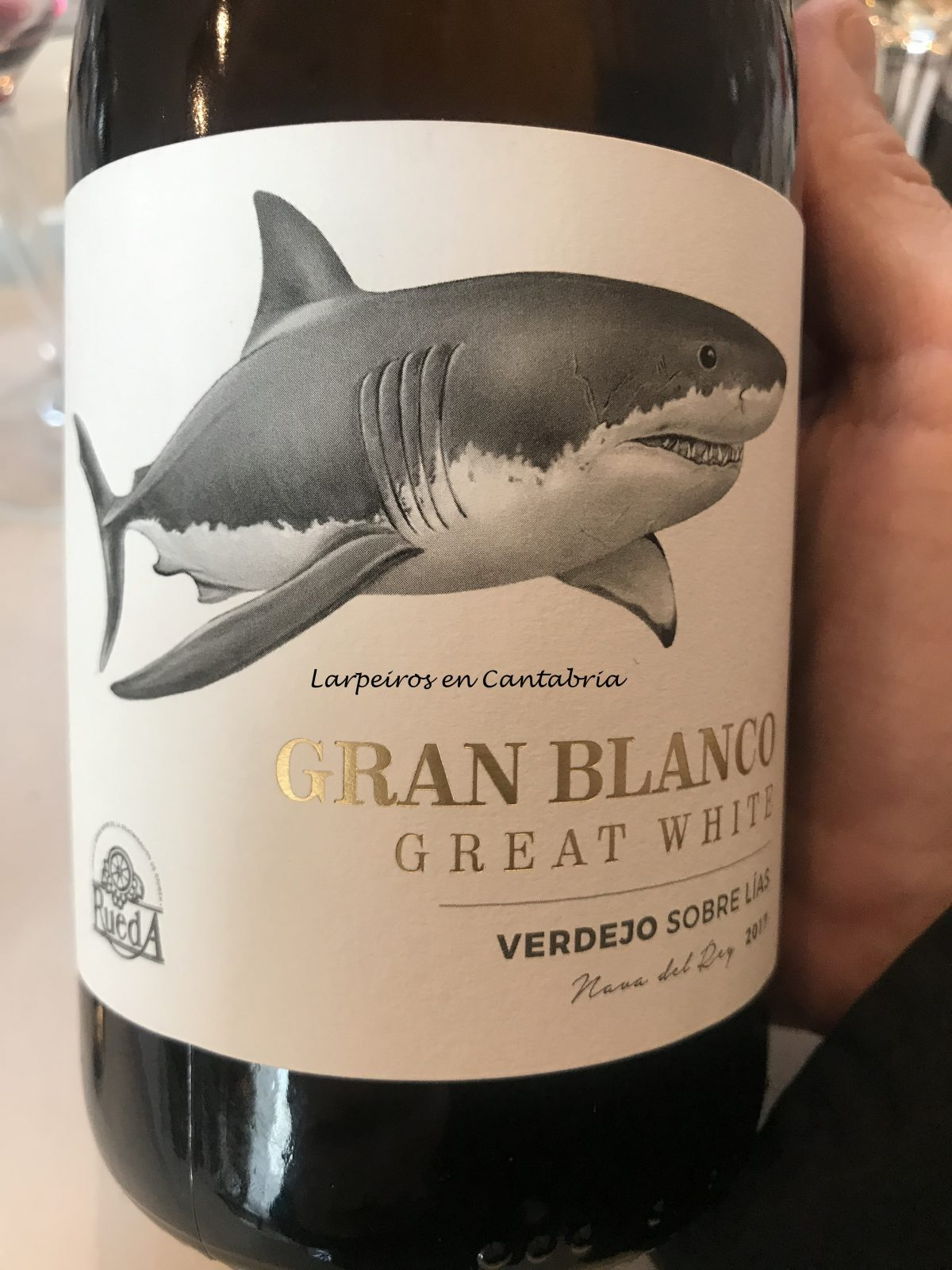 Vino Blanco Gran Blanco (Great White) 2017