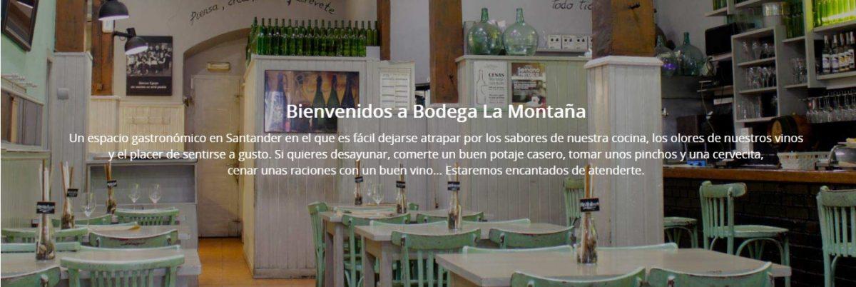 Bodega La Montaña en Santander, nunca me falla