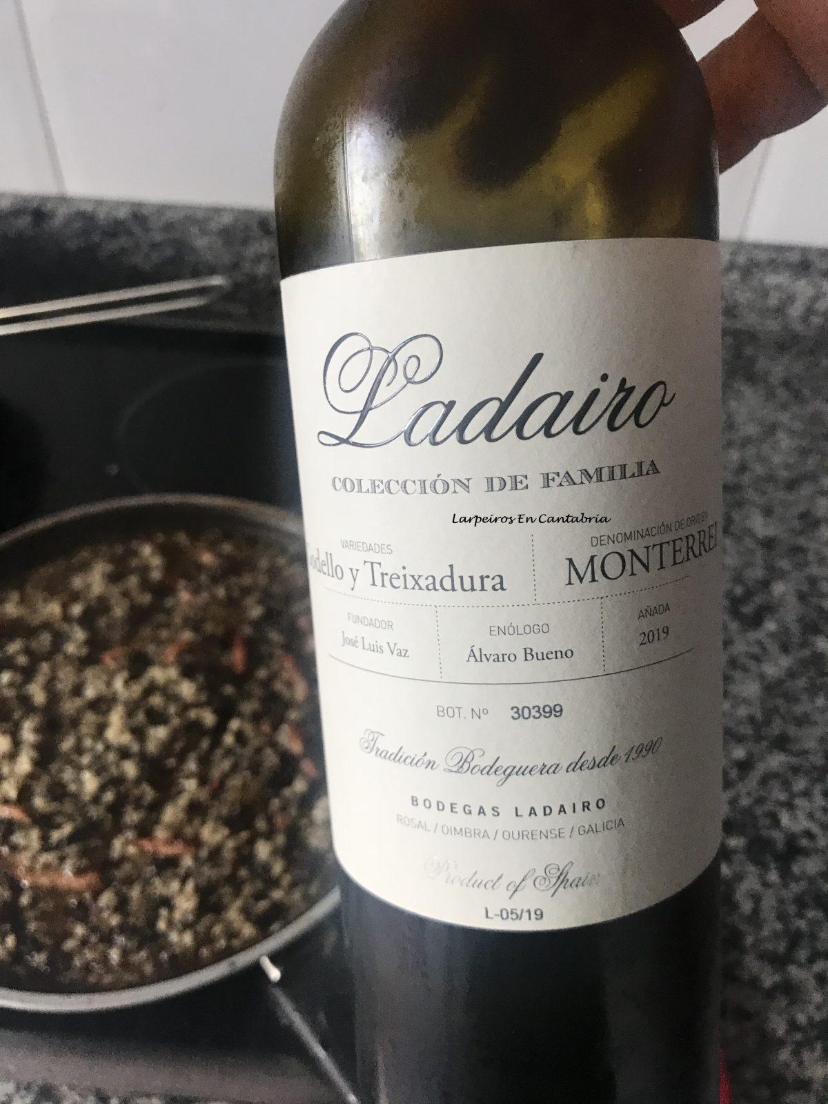 Vino Blanco Ladairo 2019, Godello y Treixadura de Monterrei
