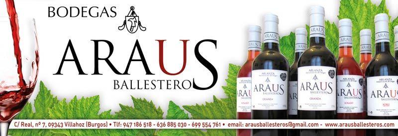 Vinos de Bodegas Araus Ballesteros